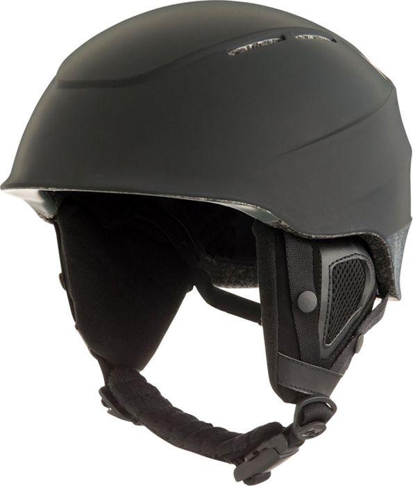 Шлем для горных лыж и сноуборда Quiksilver ALTHY M HLMT BTK0, цвет: черный. Размер S лонгслив мужской quiksilver alltimls цвет синий eqywr03137 brqh размер m 46 48