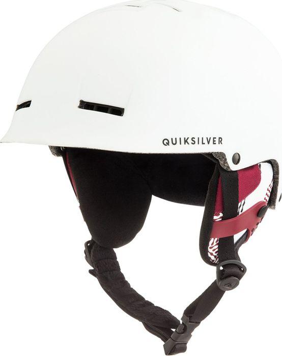 Шлем для горных лыж и сноуборда Quiksilver FUSION M HLMT WBK0, цвет: белый. Размер 58