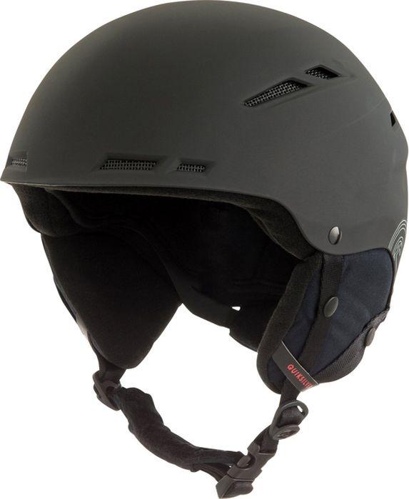 Шлем для горных лыж и сноуборда Quiksilver MOTION M HLMT KVJ0, цвет: черный. Размер 56