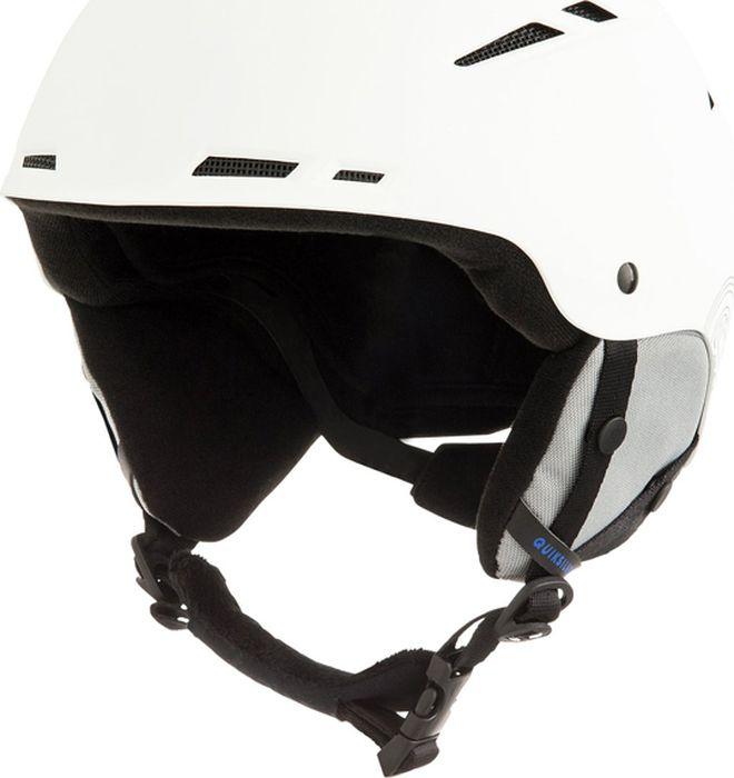 Шлем для горных лыж и сноуборда Quiksilver MOTION M HLMT WBK0, цвет: белый. Размер 58