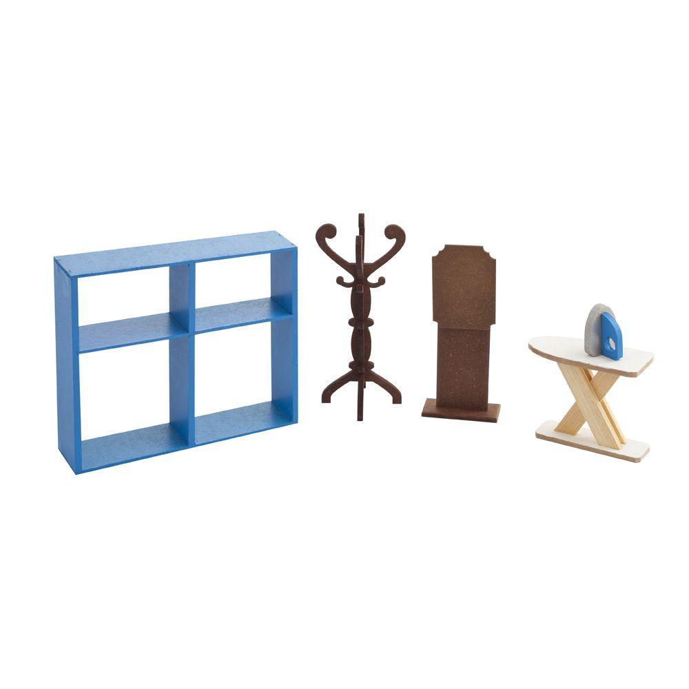 Мебель для кукол PAREMO Гардеробная набор мебели для барби paremo гардеробная