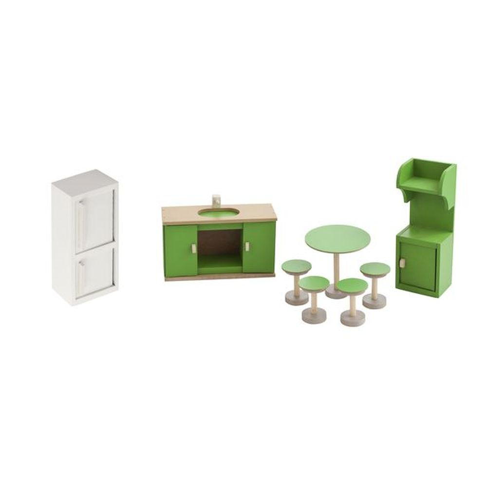 Мебель для кукол PAREMO Кухня высокое качество with пластик хранение и организация для дома для офиса кухня место хранения 1pcs