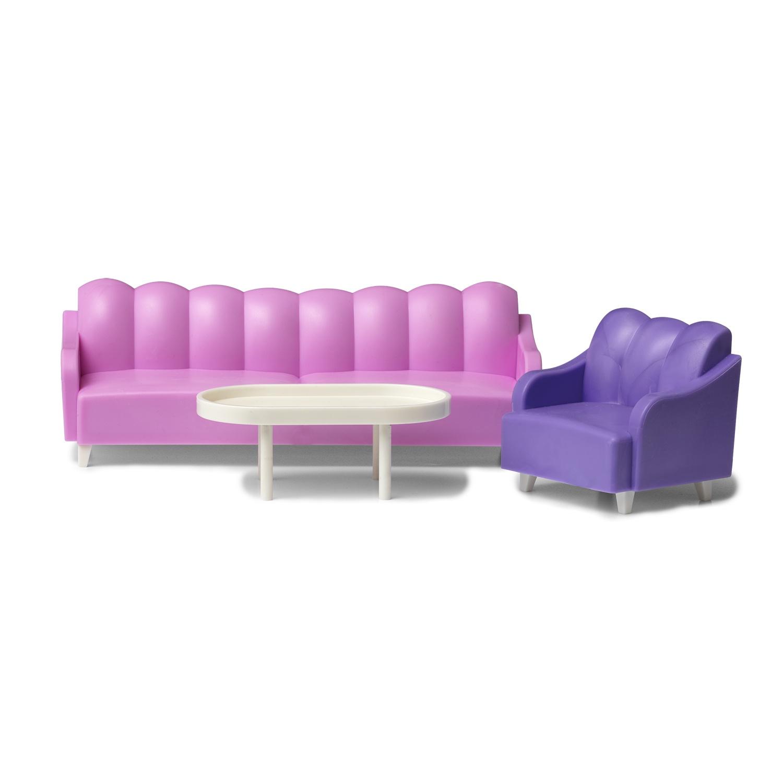 Кукольная мебель PAREMO, набор для гостиной ганг журнальный столик elit набор