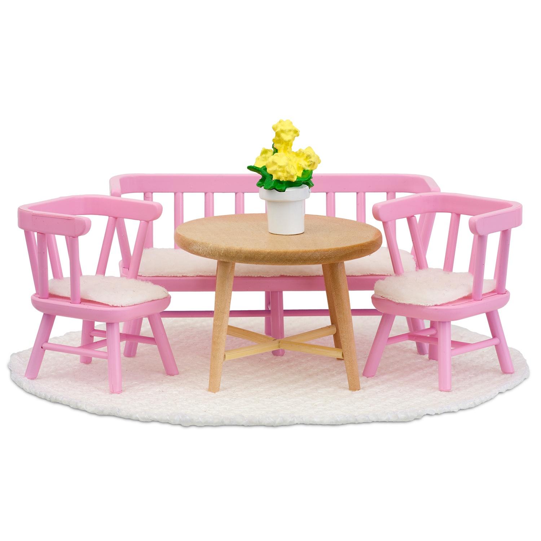 Фото - Кукольная мебель PAREMO Смоланд. Обеденный уголок аксессуары для домика lundby смоланд игрушки для детской