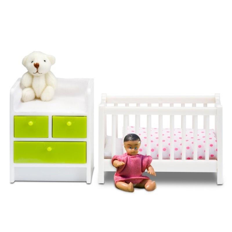 "Мебель для кукол Lundby ""Смоланд"", Детская для младенца"