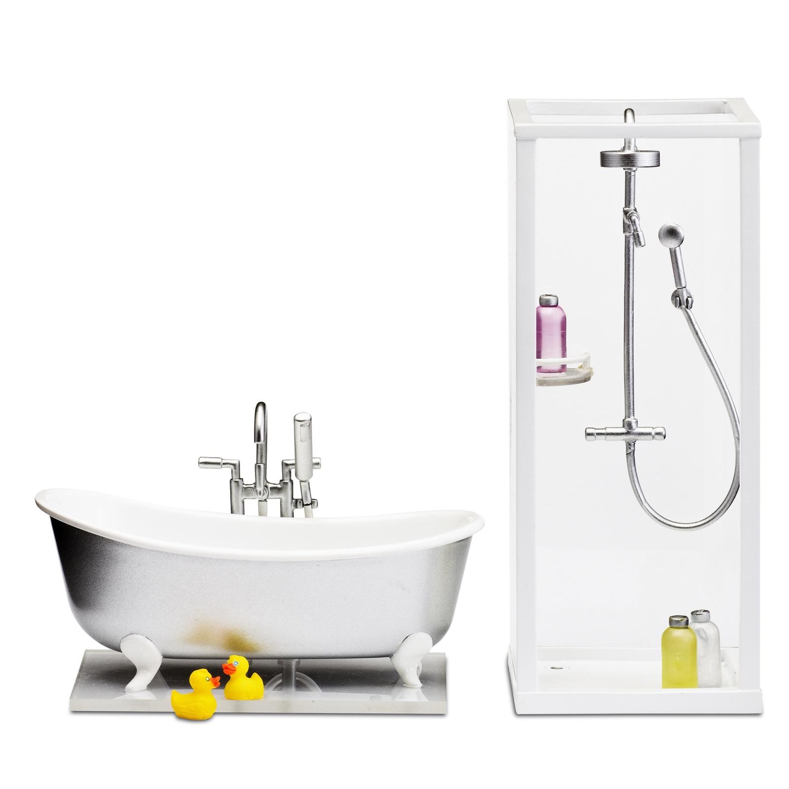 Фото - Мебель для домика Lundby Смоланд, ванная и душевая аксессуары для домика lundby смоланд игрушки для детской