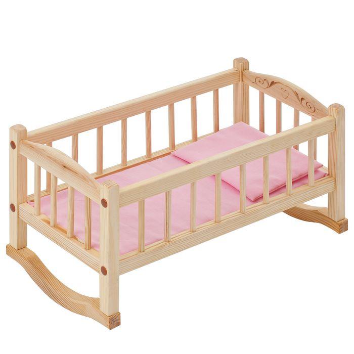 кроватки для кукол Мебель для кукол PAREMO Кроватка-люлька