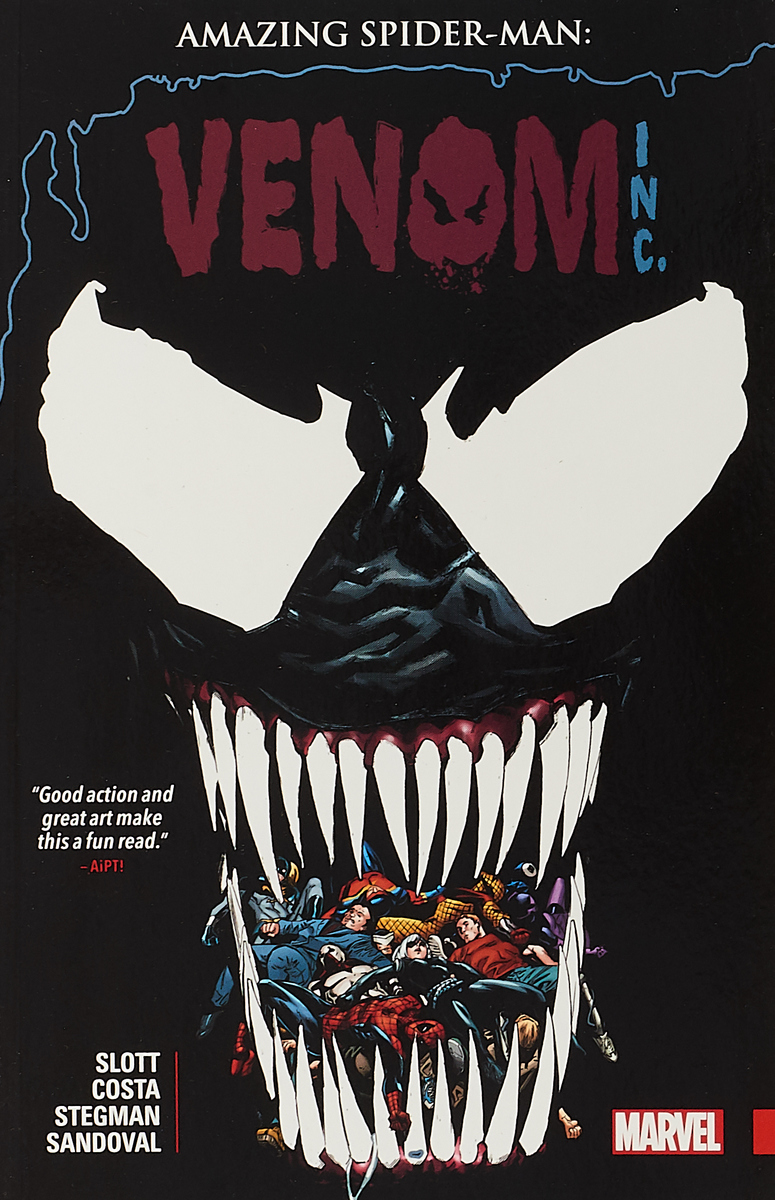 Amazing Spider-Man: Venom Inc. the little book of the amazing spider man