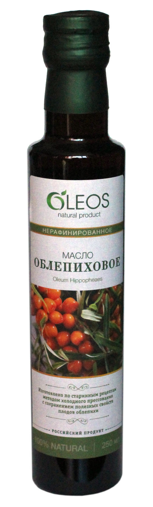 Фото - Масло Oleos Dorika Облепиховое, 250 мл облепиховое масло 50 мл бад