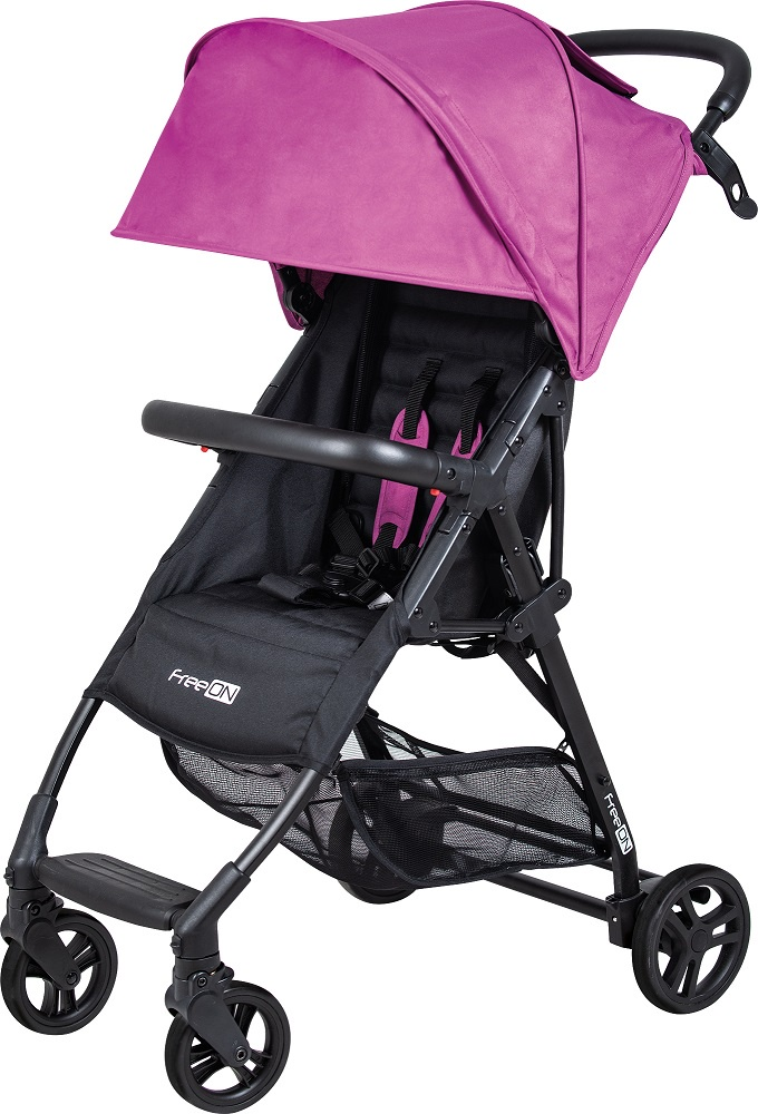 Коляска FreeOn Boo, цвет: розовый