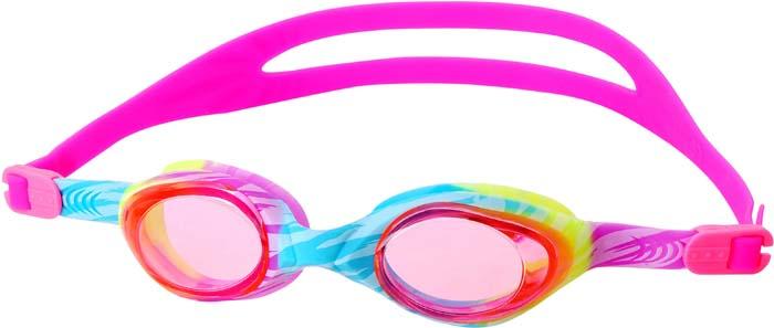 Очки для плавания Larsen Dynamics Brush, детские, цвет: разноцветный