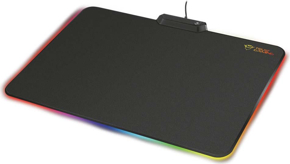 Коврик для мыши Trust GXT 760 Glide RGB, цвет: черный цена 2017