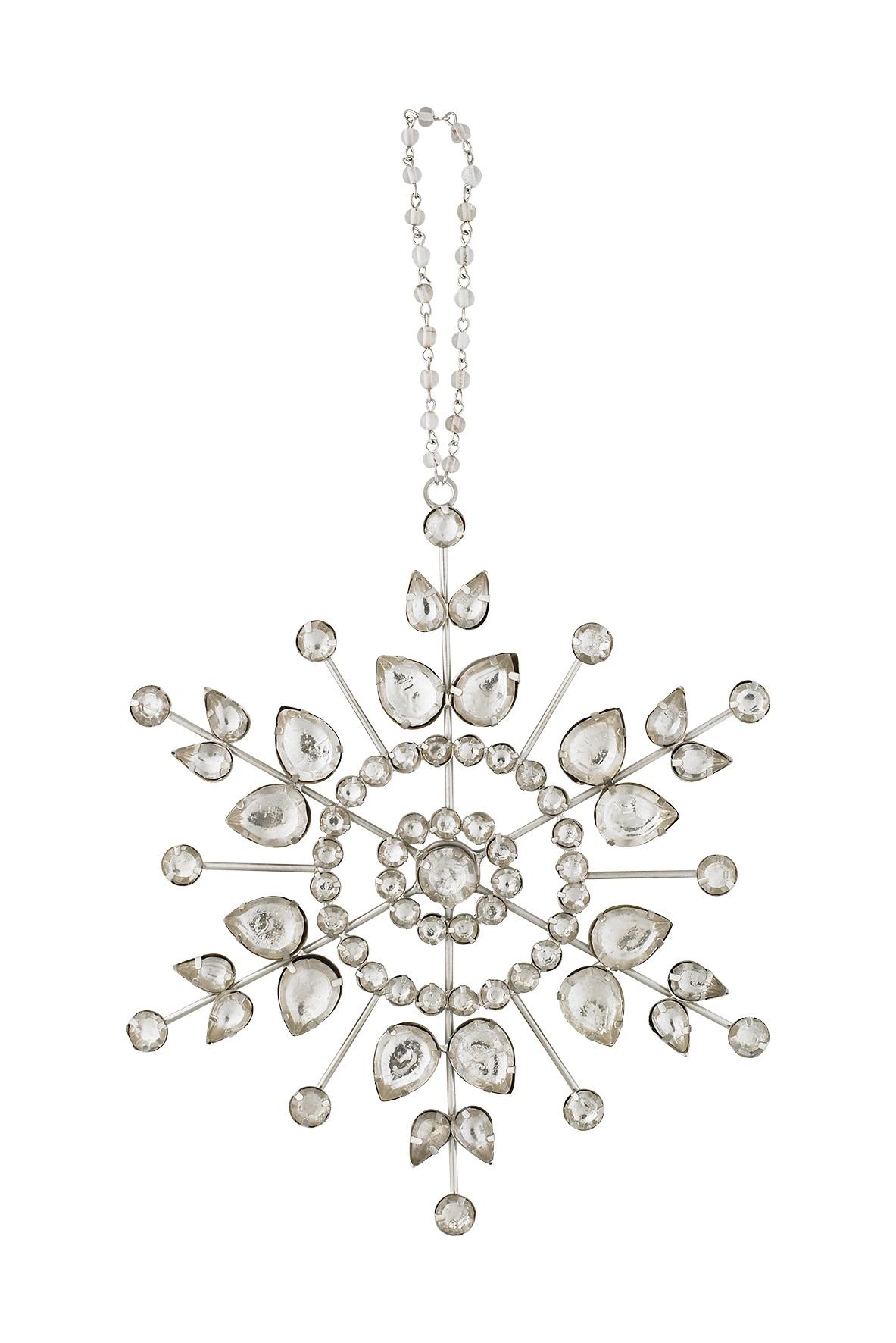 Подвесное украшение Molly Marais Star ornament, Цвет: серебряный, XM520018, Размер: Диаметр 16, длина подвеса 8 yoursfs серебряный 8