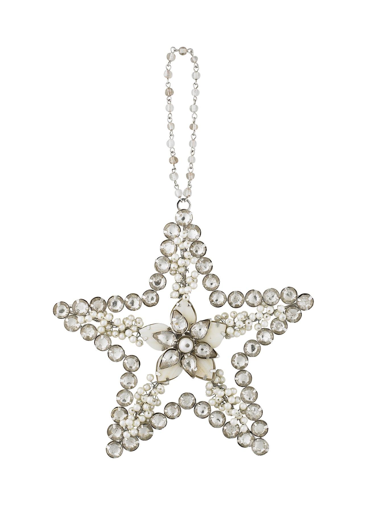 Подвесное украшение Molly Marais Star ornament, Цвет: серебряный, XM520019, Размер: Диаметр 14, длина подвеса 8