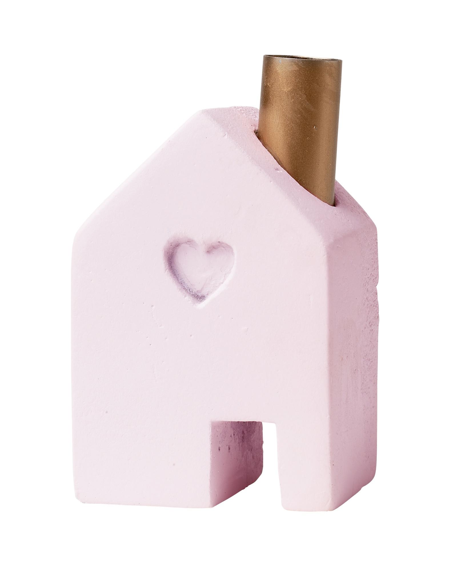 цена Декоративный элемент Molly Marais House, Размер: высота 9, длина 5,8, ширина 4., Цвет: розовый, DE520006 онлайн в 2017 году
