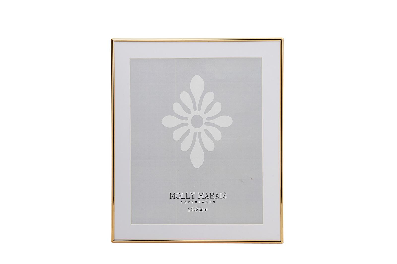 Фоторамка Molly Marais Gold, Размер: Ширина 25,6, длина 30,9., Цвет: Золотой, FR610012