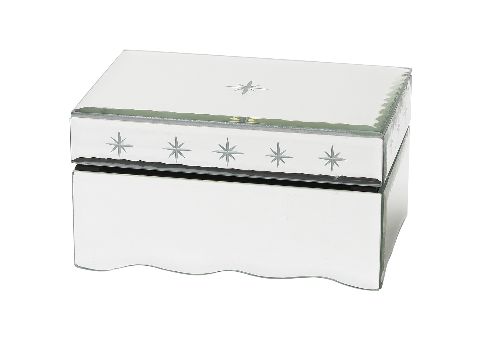 цены Шкатулка Molly Marais большая, Размер: Высота 13, ширина 15, длина 20., Цвет: Белый, BX520001