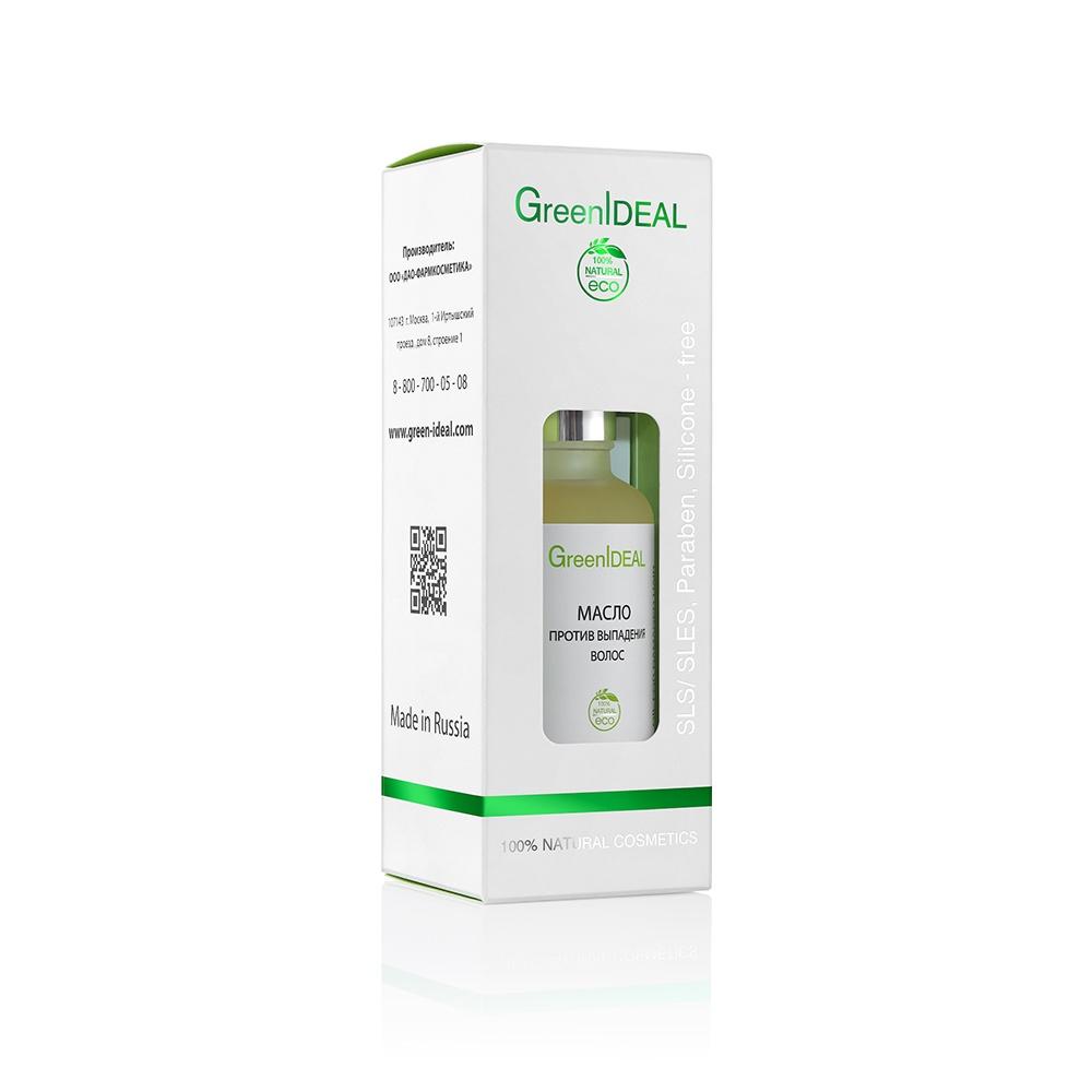Масло для волос GreenIdeal Масло против выпадения волос (натуральное)