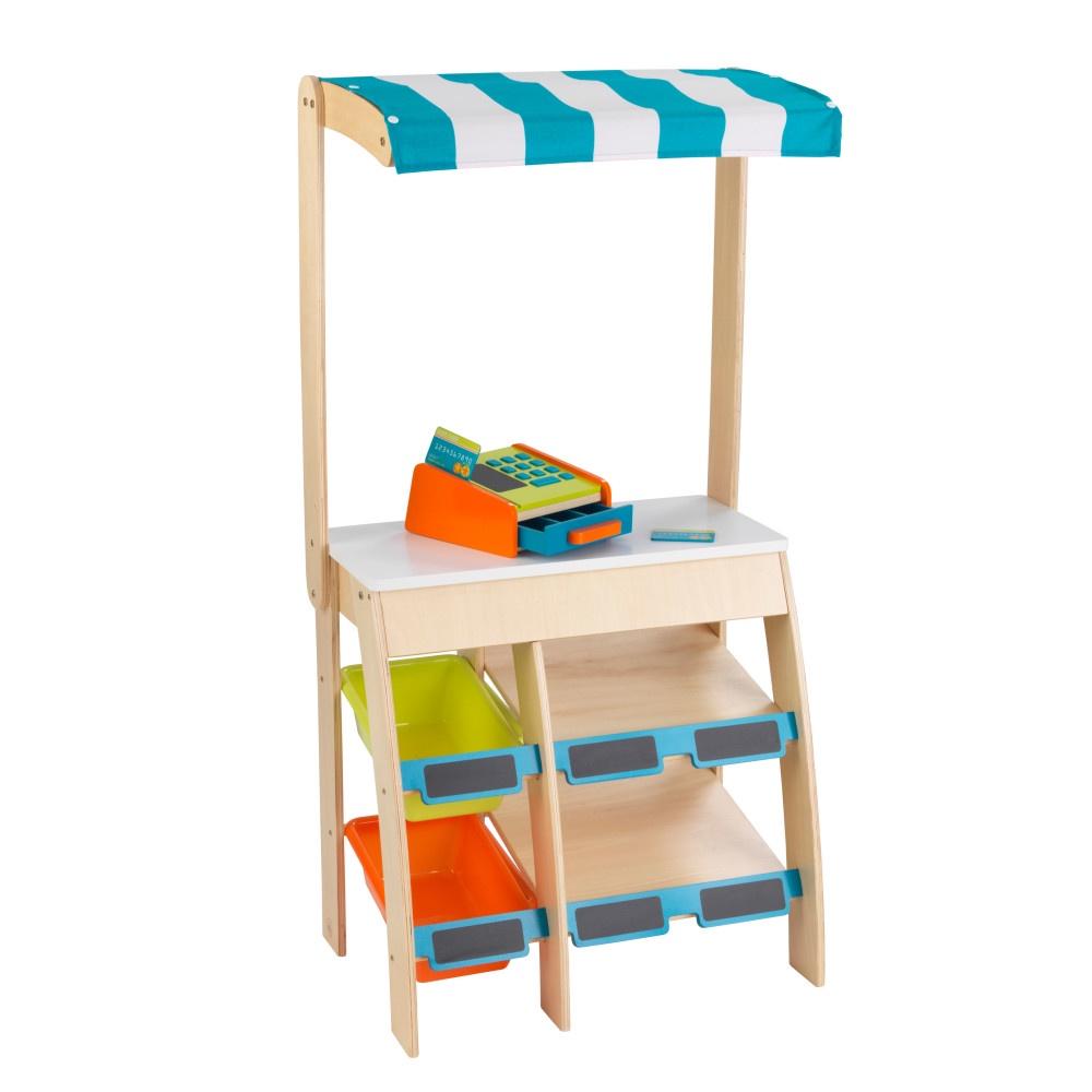 Фото - Торговая площадка KidKraft Бакалея игрушечная, деревянная, с кассовым аппаратом бакалея
