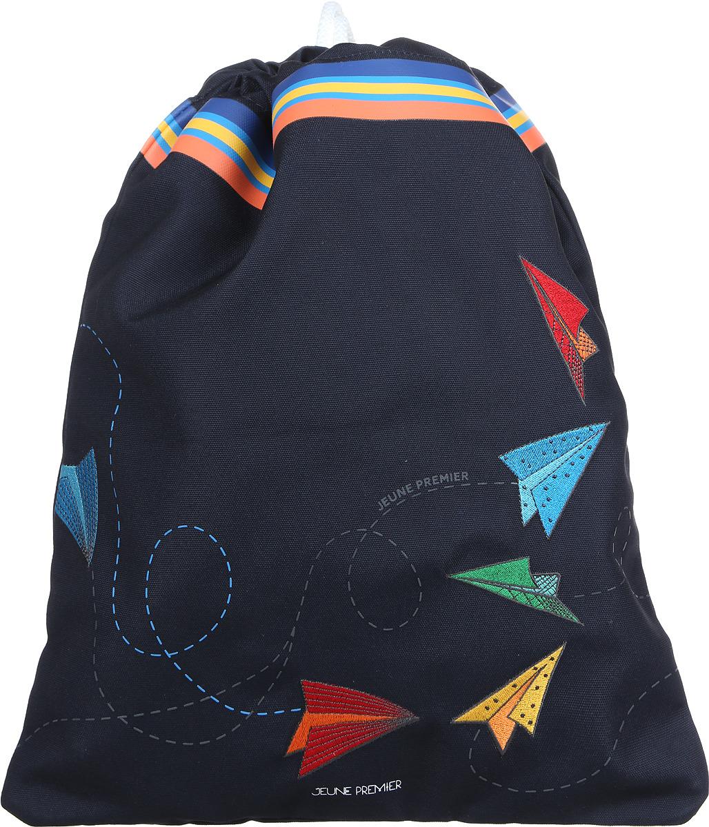 Jeune Premier Сумка для сменной обуви и одежды Оригами, цвет: темно-синий