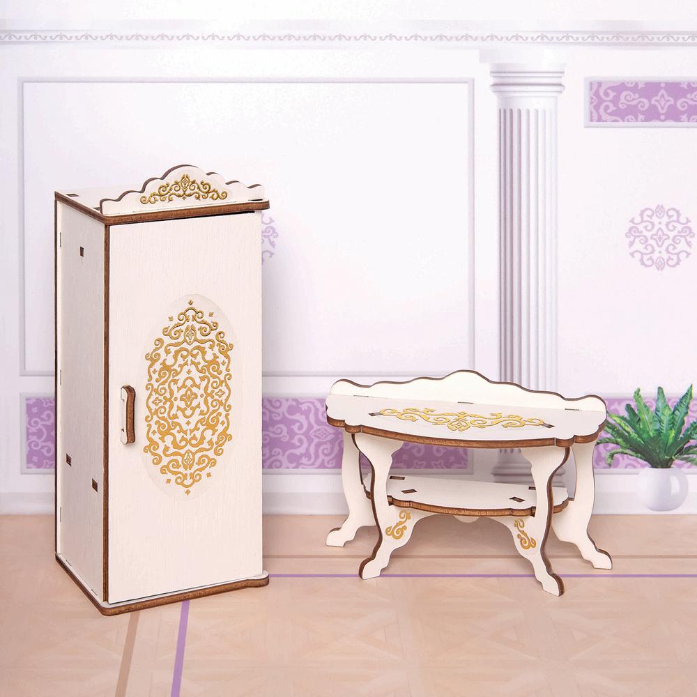Фото - Мебель для кукол ЯиГрушка Спальня, 59799 яигрушка шкаф для спальни яигрушка