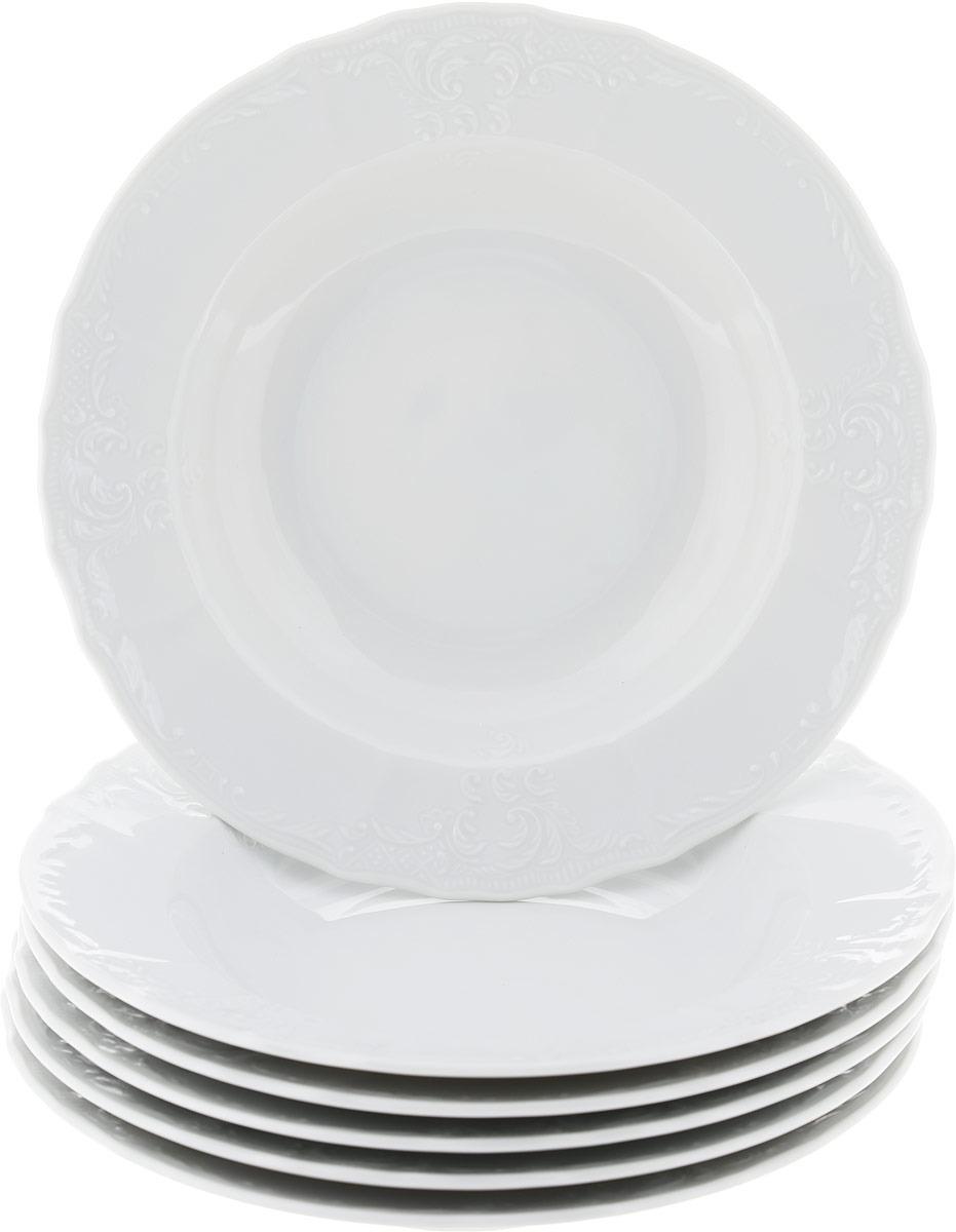 Тарелка глубокая Thun, диаметр 23 см, 6 шт