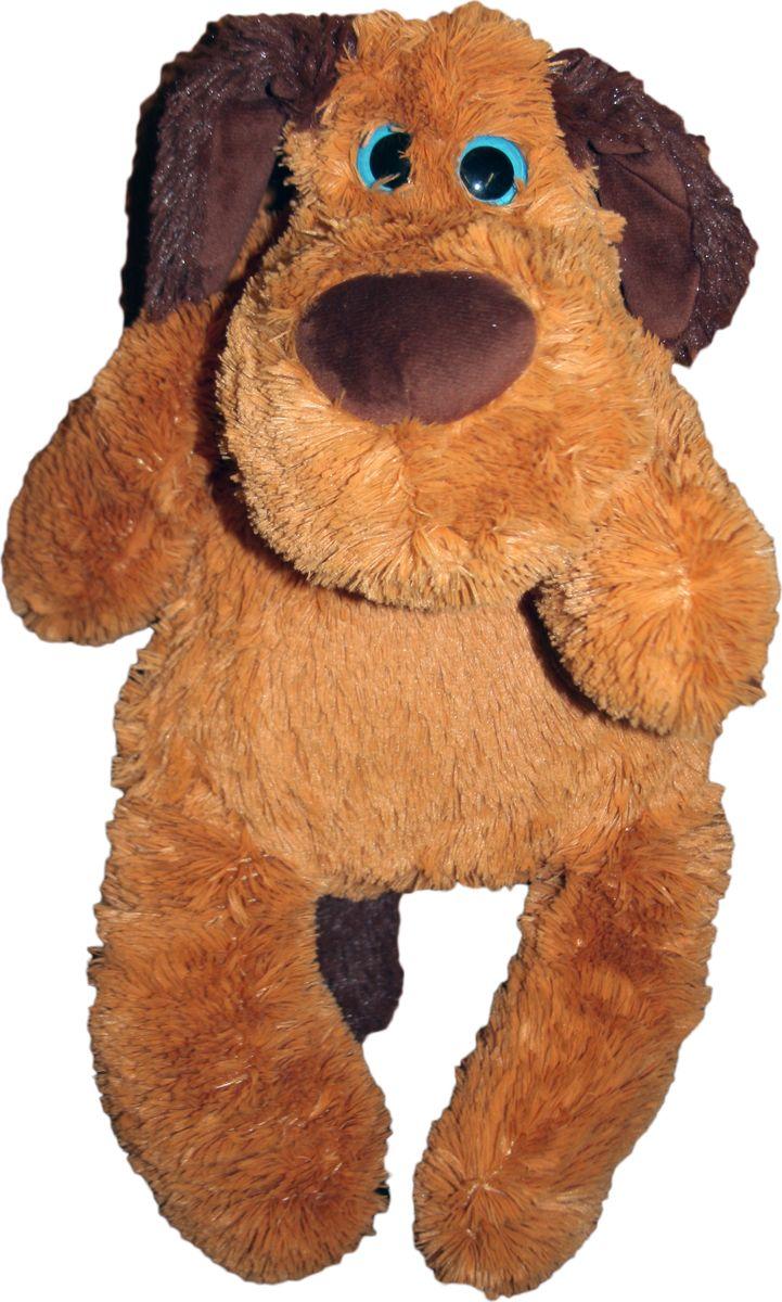 """Мягкая игрушка СмолТойс """"Дворняжка Тузик"""", цвет: бежевый, высота 40 см"""
