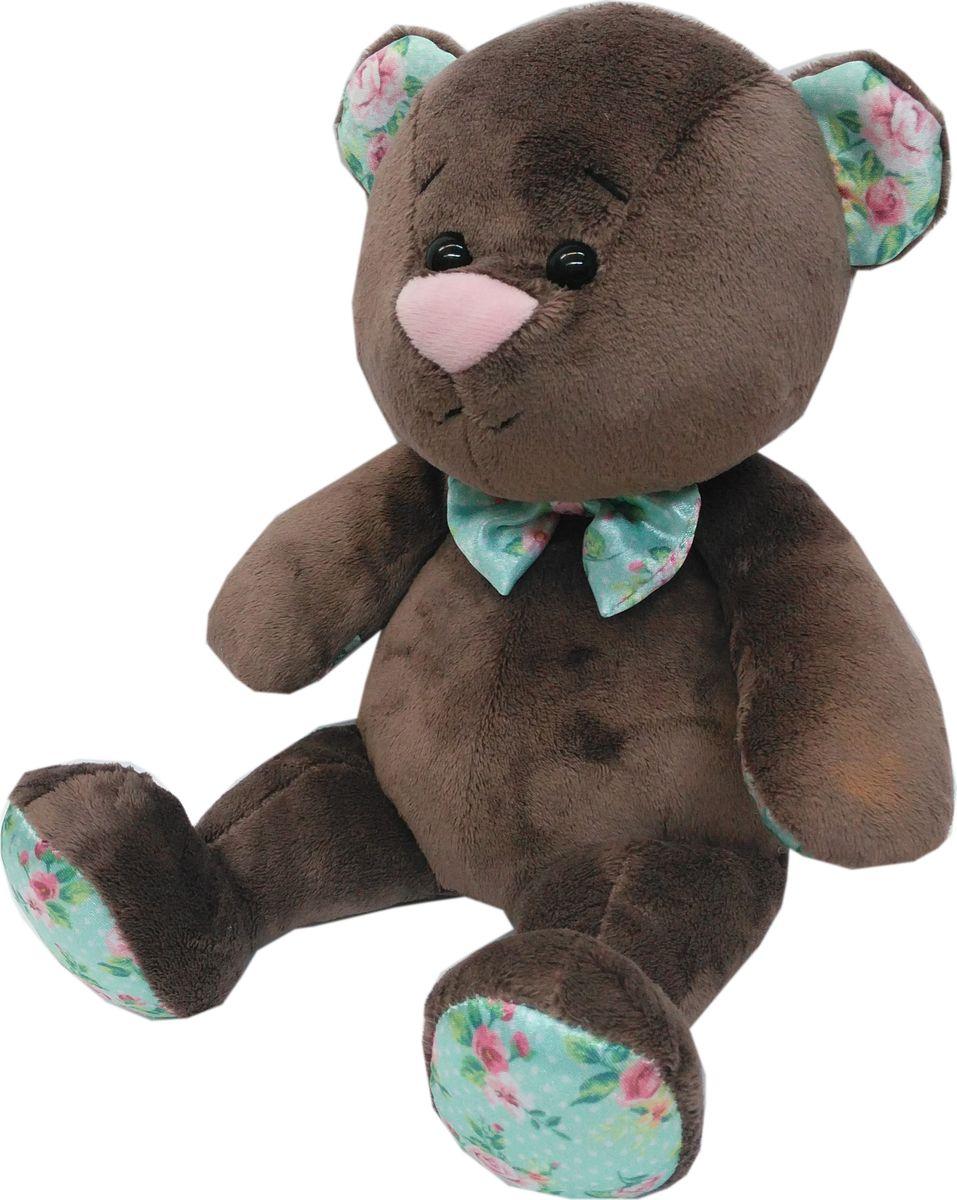 """Мягкая игрушка СмолТойс """"Мишка Тема"""", цвет: коричневый, высота 30 см"""