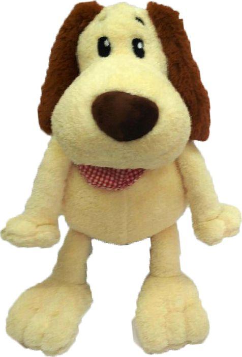 """Мягкая игрушка СмолТойс """"Собака"""", цвет: молочный, высота 50 см"""