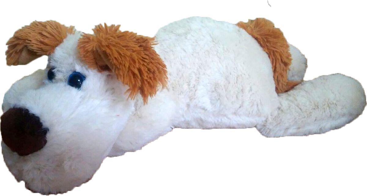 """Мягкая игрушка СмолТойс """"Дворняжка Тузик"""", цвет: молочный, высота 40 см"""
