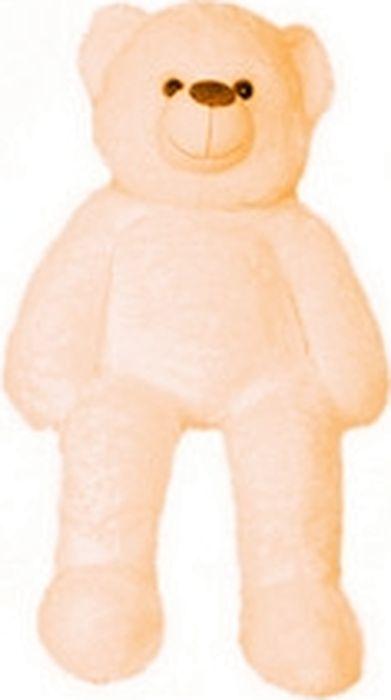"""Мягкая игрушка СмолТойс """"Медведь с коленками"""", цвет: молочный, высота 100 см"""