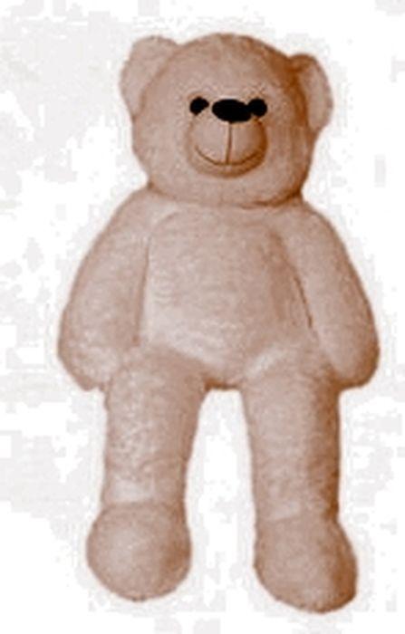 """Мягкая игрушка СмолТойс """"Медведь с коленками"""", цвет: бежевый, высота 100 см"""