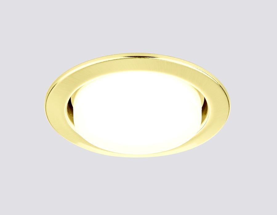 Встраиваемый светильник Ambrella light G101GD ambrella встраиваемый светильник ambrella led s701 cl ch ww