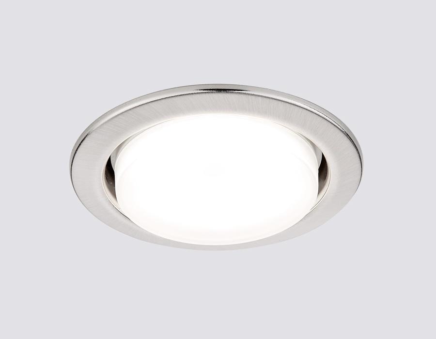 Встраиваемый светильник Ambrella light G101SS ambrella встраиваемый светильник ambrella led s701 cl ch ww