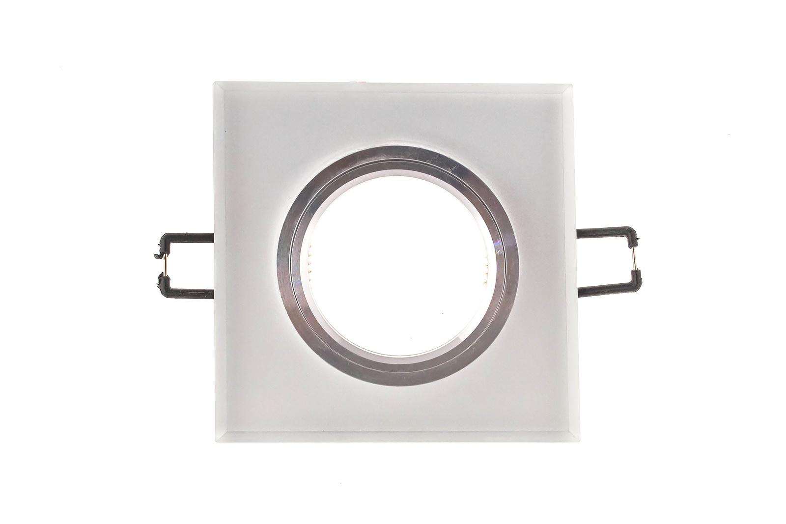 Встраиваемый светильник Ambrella light S215W/CH/WH ambrella встраиваемый светильник ambrella led s701 cl ch ww