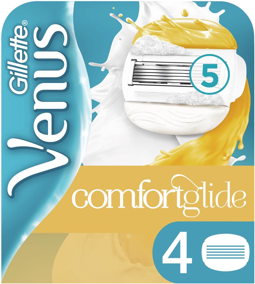 Сменные кассеты для бритья VENUS&OLAY, 4 шт olay olay новорожденного пластиковых волокна яна шариковый крем для глаз перо 6ml глаз