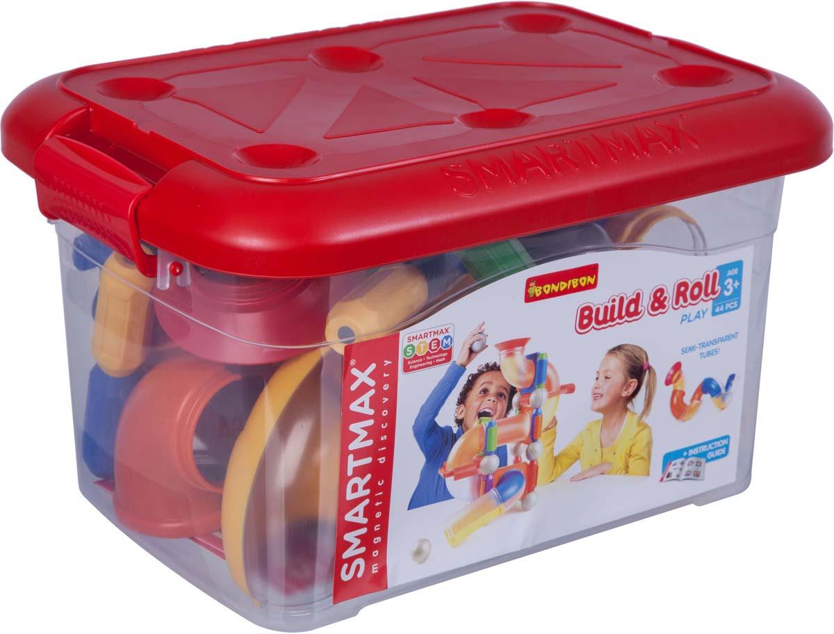 Магнитный конструктор Bondibon SmartMax Собирай и запускай bondibon конструктор магнитный smartmax дополнительный набор вв0872
