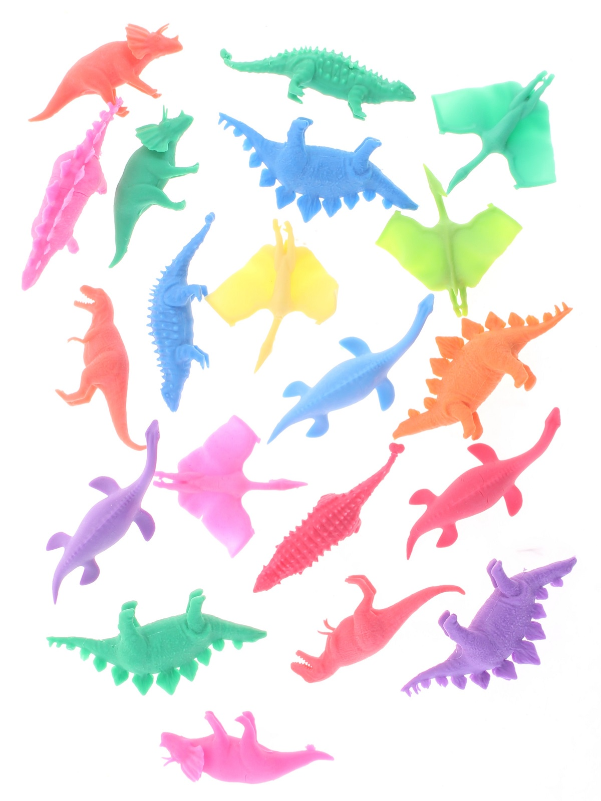 """Набор фигурок Радужки """"Динозавры"""" для ванной, 20 шт"""