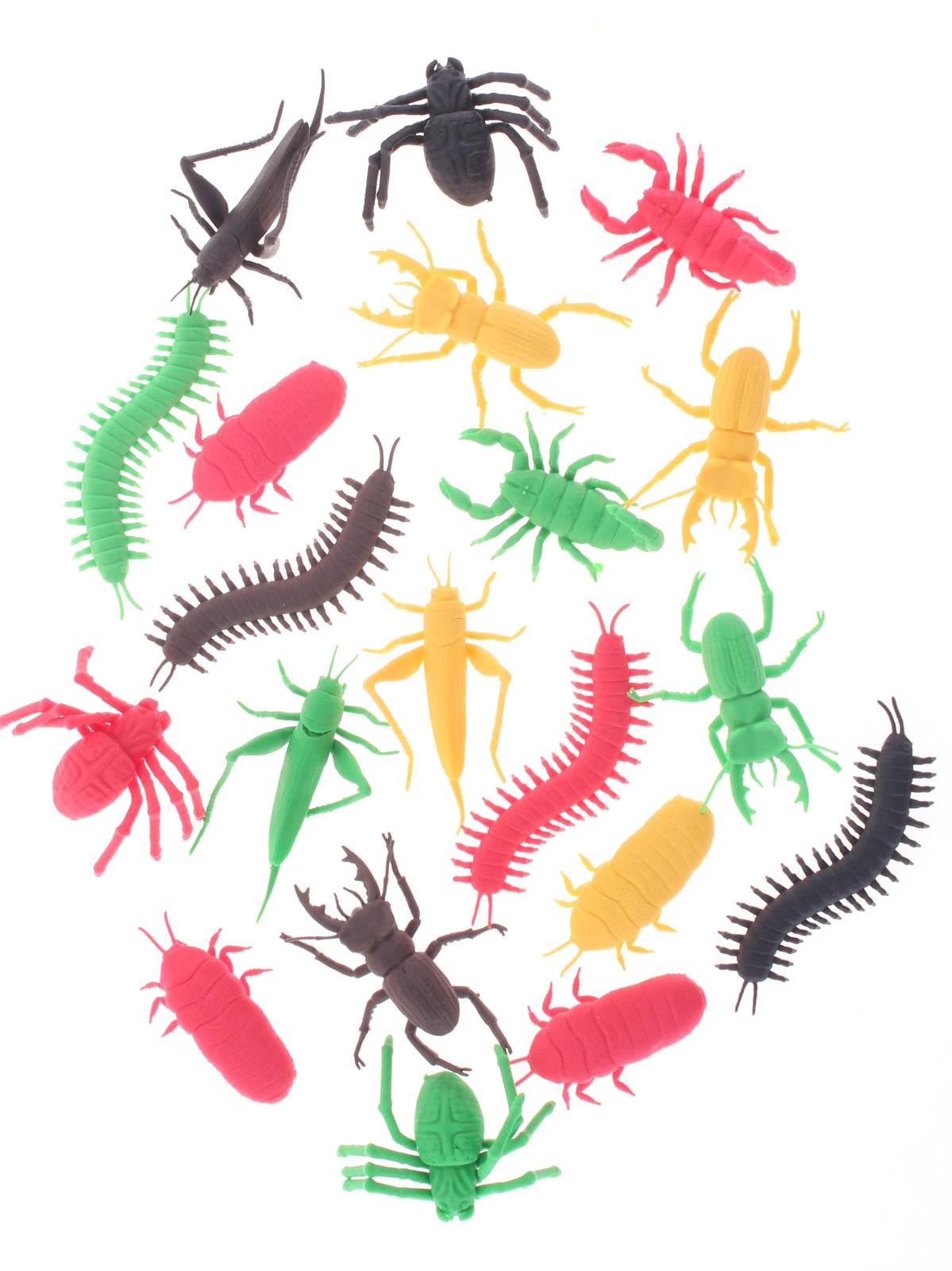 Набор фигурок Радужки Насекомые для ванной, 20 шт игровые фигурки s s toys набор насекомые 4 шт 7 см