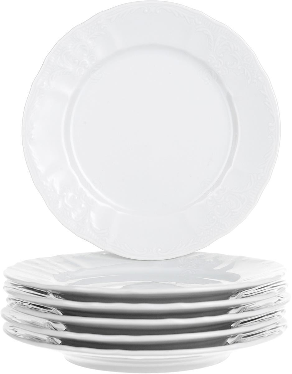 Тарелка десертная Thun, диаметр 17 см, 6 шт