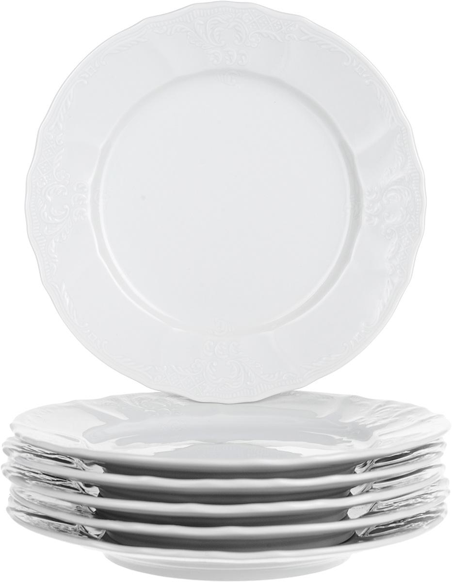 Тарелка десертная Thun, диаметр 19 см, 6 шт