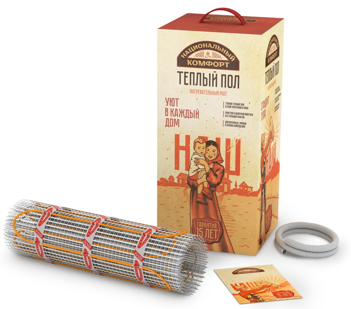 Одножильная нагревательная секция Национальный комфорт тНК-760-5,00, 1000374 цены