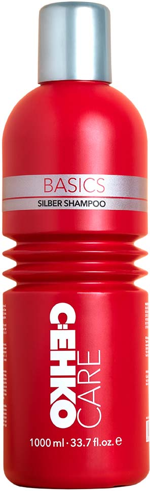 Шампунь C:EHKO Care Basics Silber Shampoo, серебристый, 1 л