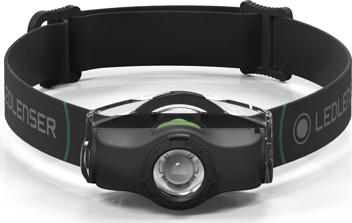 Фонарь налобный LED Lenser MH4, цвет: черный