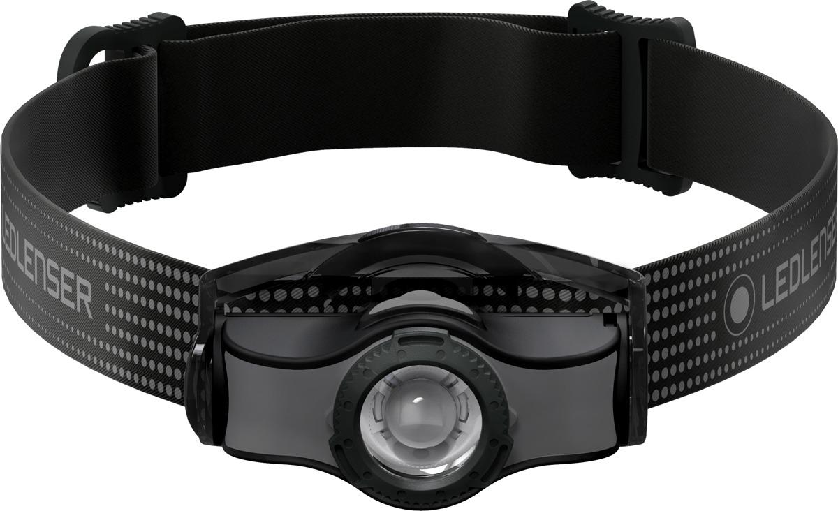 Фонарь налобный LED Lenser MH3, цвет: черно-серый