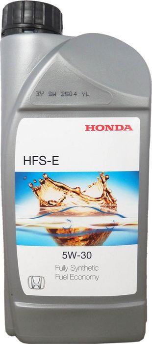 Масло моторное Honda HFS-E, синтетическое, 5W-30, SN, 1 л