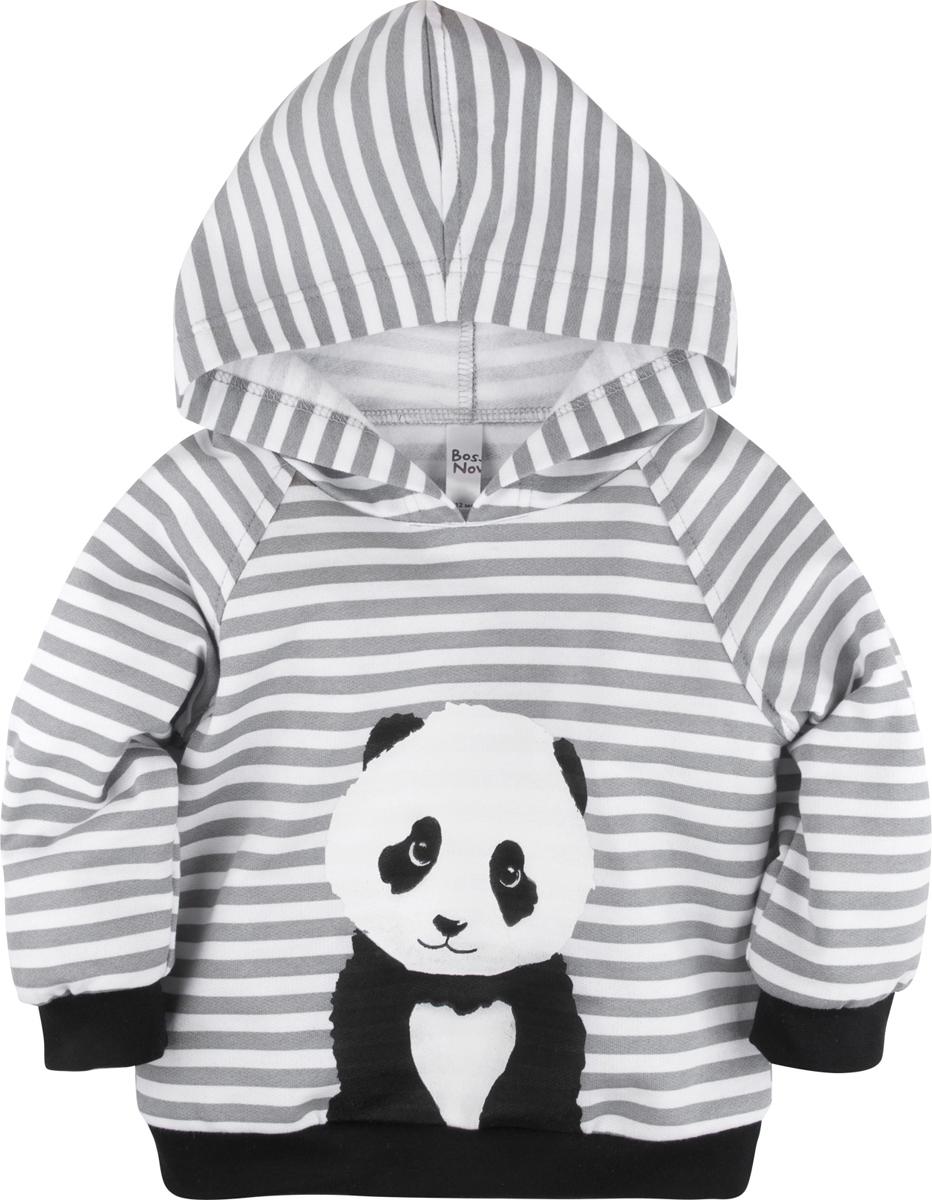 Толстовка Bossa Nova Panda Baby боди детское bossa nova panda baby цвет черный 580б 361 размер 92