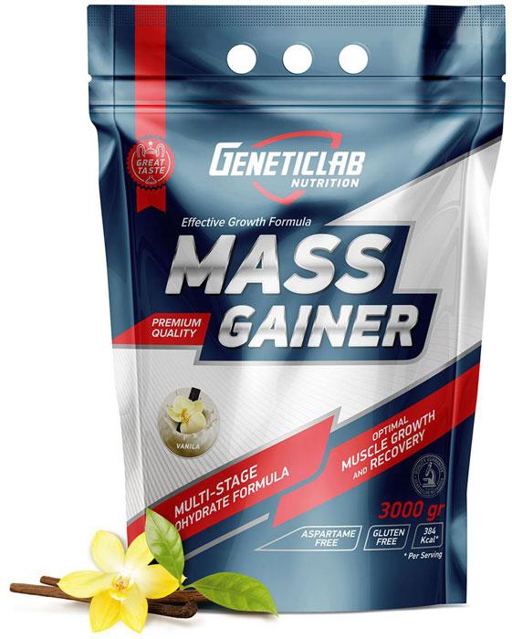 Гейнер Geneticlab Nutrition Mass Gainer, ваниль, 3 кгУТ-00000716Mass gainer от Генетиклаб создан для питания профессиональных спортсменов, также отлично подойдет для тех, кто хочет набрать мышечную массу и сформировать красивый рельеф тела. Содержит оптимальное количество чистого белка и углеводов, чтобы восполнить энергию после тренировок, быстро утолить чувство голода и обеспечить чувство сытости на длительное время. С ним Вы получаете потерянные на тренировке питательные вещества (в том числе белок для строения мышц), аминокислоты и энергию, спасаетесь от переедания Преимущества Geneticlab MASS GAINER Состав: комбинация нужных аминокислот, в том числе BCAA, сложные и простые углеводы значительно увеличивают скорость роста мышц и упругого рельефа тела Легкость в использовании: порция безошибочно отмеряется мерной ложкой, быстро смешивается с водой или молоком. Вкус: Чувство сытости и удовольствия формируется благодаря добавлению ванили. Особенно это поможет соблюдать режим правильного питания людям, которые обожают кондитерскую продукцию. Способ применения и дозировка: смешать одну порцию (100 г = 5 мерных ложек) с 250-400 мл воды в шейкере или хорошо размешать блендером, через 3 минуты повторно взболтать. Состав: мальтодекстрин, концентрат сывороточного белка, глюкоза, ароматизатор пищевой.