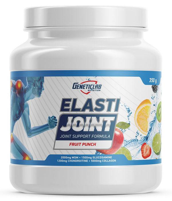 Глюкозамин и Хондроитин Geneticlab Nutrition Elasti Joint, фруктовый пунш, 350 г глюкозамин gnc triflex 120