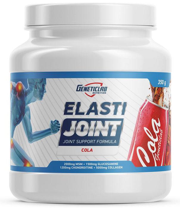 Глюкозамин и Хондроитин Geneticlab Nutrition Elasti Joint, кола, 350 г глюкозамин gnc triflex 120